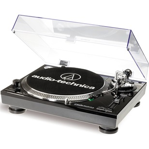 AUDIO-TECHNICA Lemezjátszó AT-LP120USBHCBK Fekete