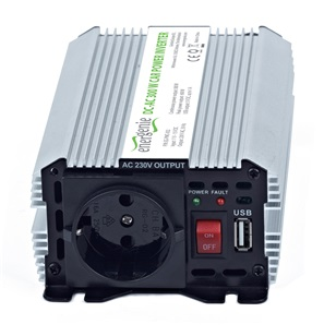 ENERGENIE Autós inverter  300W 12V USB port