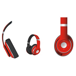 OMEGA Freestyle Headset Wireless Piros