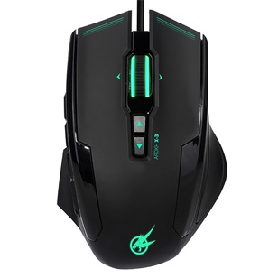 PORT GAMING MOUSE AROKH X-3 - 12 BUTTONS 8200 DPI - GN