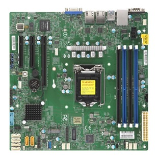 SUPERMICRO Alaplap MicroATX MBD-X11SCL-F