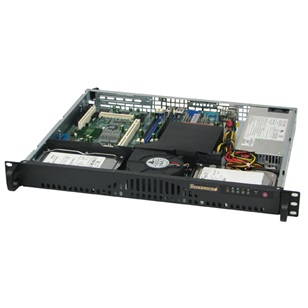 SUPERMICRO Ház mini 1U 512L-260B