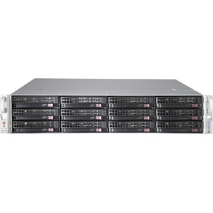 SUPERMICRO Ház rack 2U SC826B  1 Expander, Redundant 920W