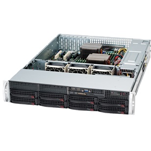 SUPERMICRO Ház rack 2U 825TQ-R720LP