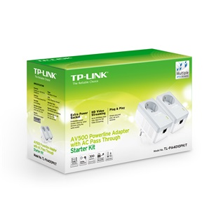 TP-LINK Powerline adapter PA4010P kit