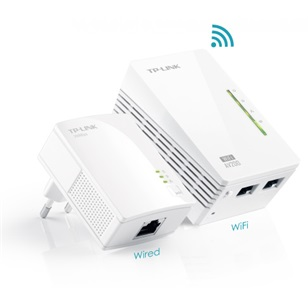 TP-LINK Powerline adapter TL-WPA4220 Kit