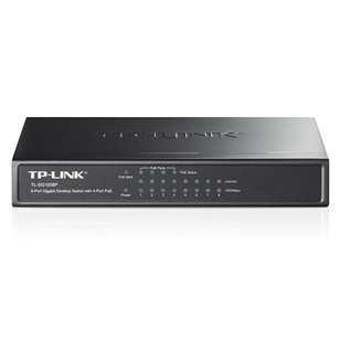 TP-LINK PoE Switch Gigabit TL-SG1008P 8 port