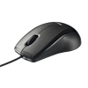 TRUST Mouse Optical CARVE BLACK USB