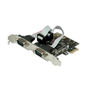 VALUE PCI-Expressz card 2x RS232