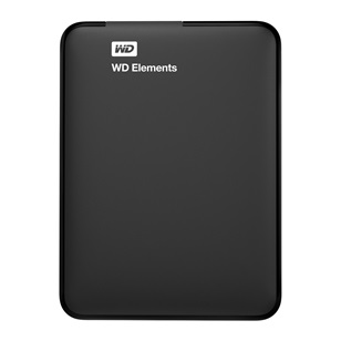 "WD HDD Külső USB3.0 2,5"" 1000GB Elements Black"