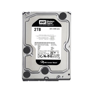 "WD HDD SATA3 Black 3.5"" 2TB (2000GB) 64MB"