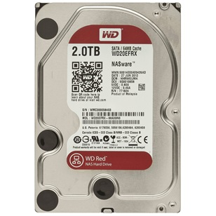 "WD HDD SATA3 Caviar Red 3.5"" 64MB 2000GB"